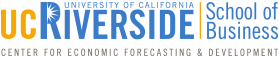 UCR Center for Economic Forecasting
