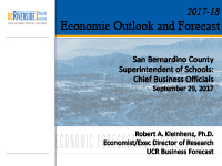 2017 Economic Outlook and Forecast