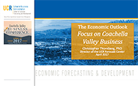 The Economic Outlook: Focus on Coachella Valley Business